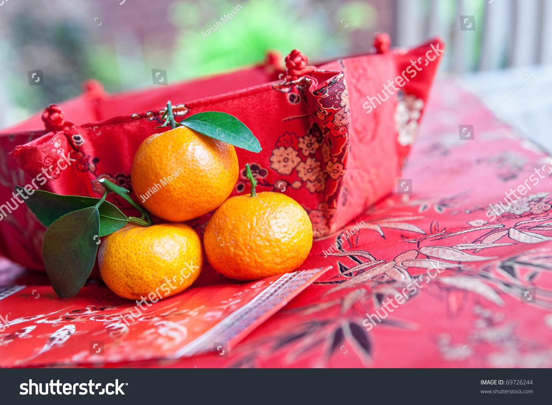 Mini Mandarin Oranges Chinese New Year Stock Photo Edit Now