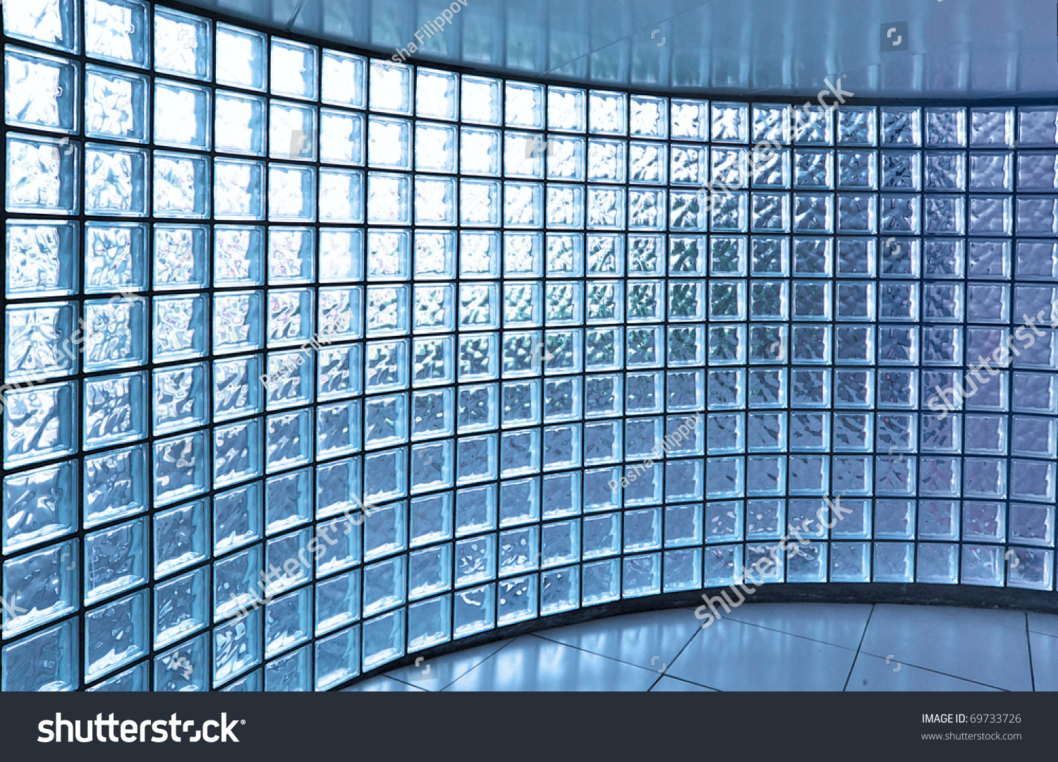 Transparent Glass Wall Modern Building Stock Photo (Edit Now ...