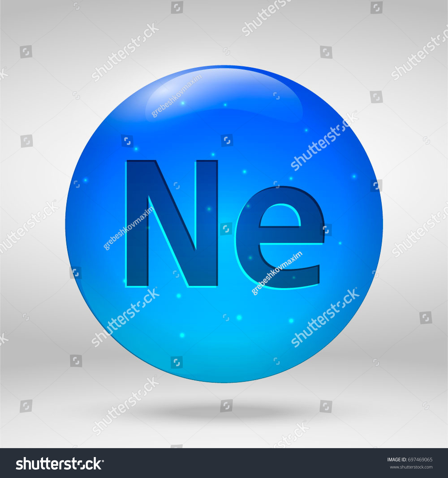 Neon element periodic table vector 3d stock vector 697469065 neon element of the periodic table vector 3d glossy drop pill capsule icon gamestrikefo Image collections
