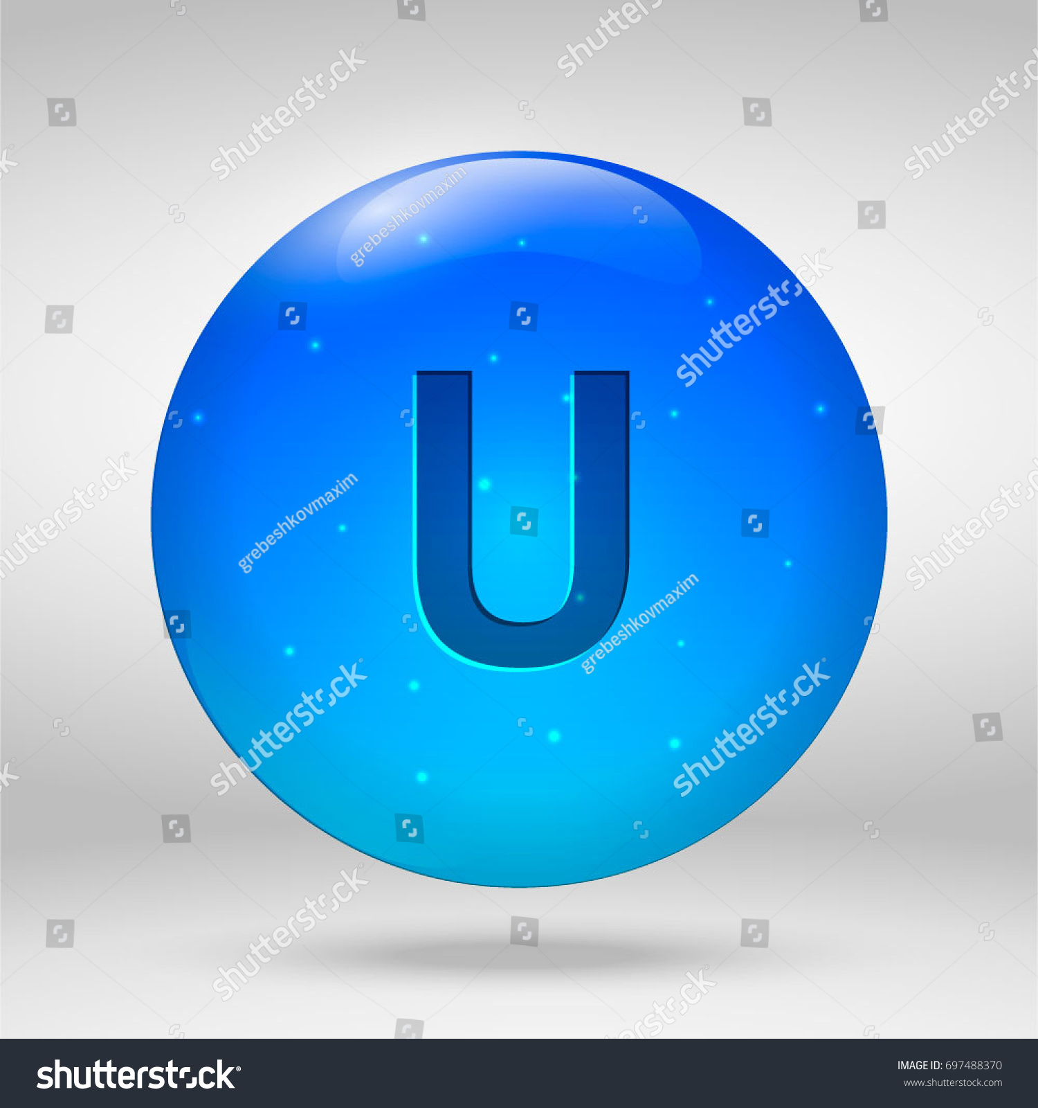 Uranium element periodic table vector 3d stock vector 697488370 uranium element of the periodic table vector 3d glossy drop pill capsule icon gamestrikefo Image collections