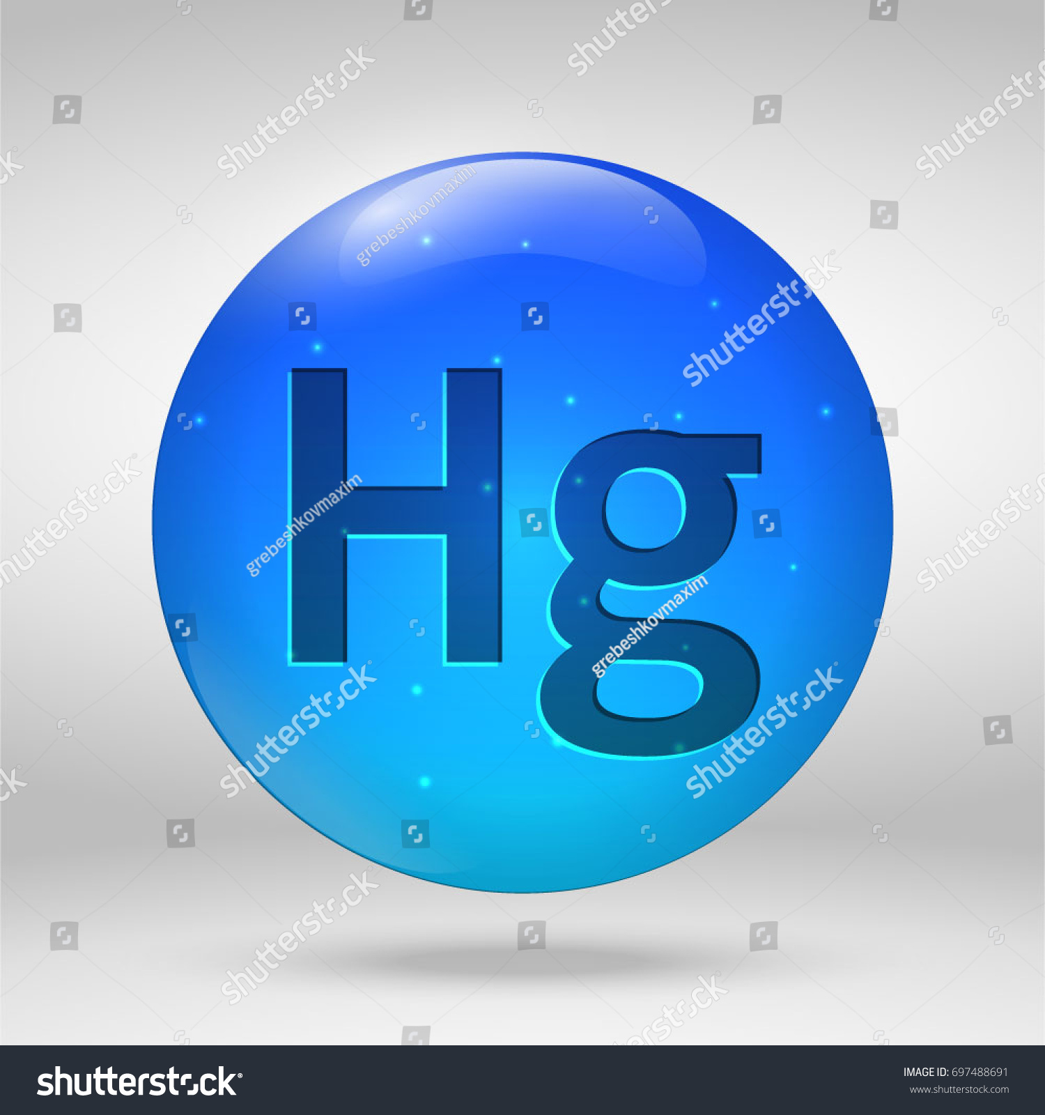 Mercury element periodic table vector 3 d stock vector 697488691 mercury element of the periodic table vector 3d glossy drop pill capsule icon urtaz Images
