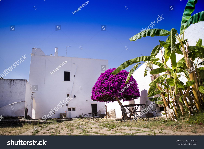 Particular Architectural Typical Masseria Puglia Zone Stock Photo Edit Now 697582960