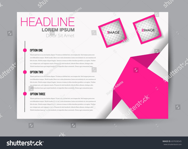 Flyer Brochure Billboard Template Design Landscape Vector de ...