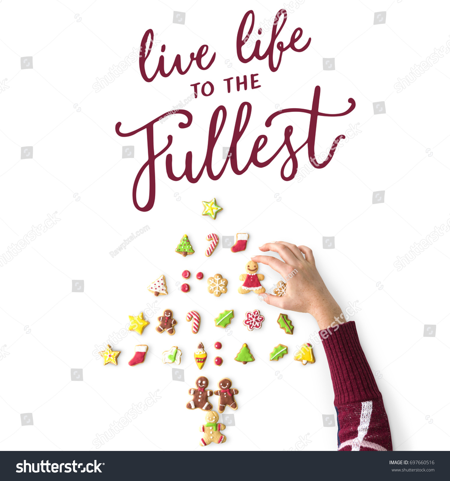 Live Life To The Fullest Quotes Live Life Fullest Quote Message Stock Photo 697660516  Shutterstock