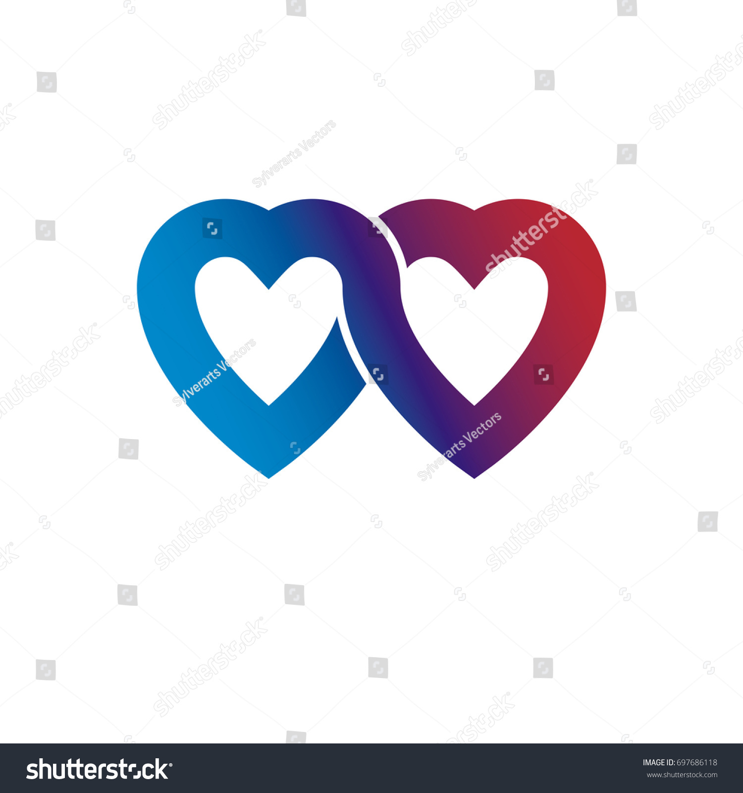 Everlasting love concept symbol created infinity stock everlasting love concept symbol created with infinity loop sign and heart biocorpaavc