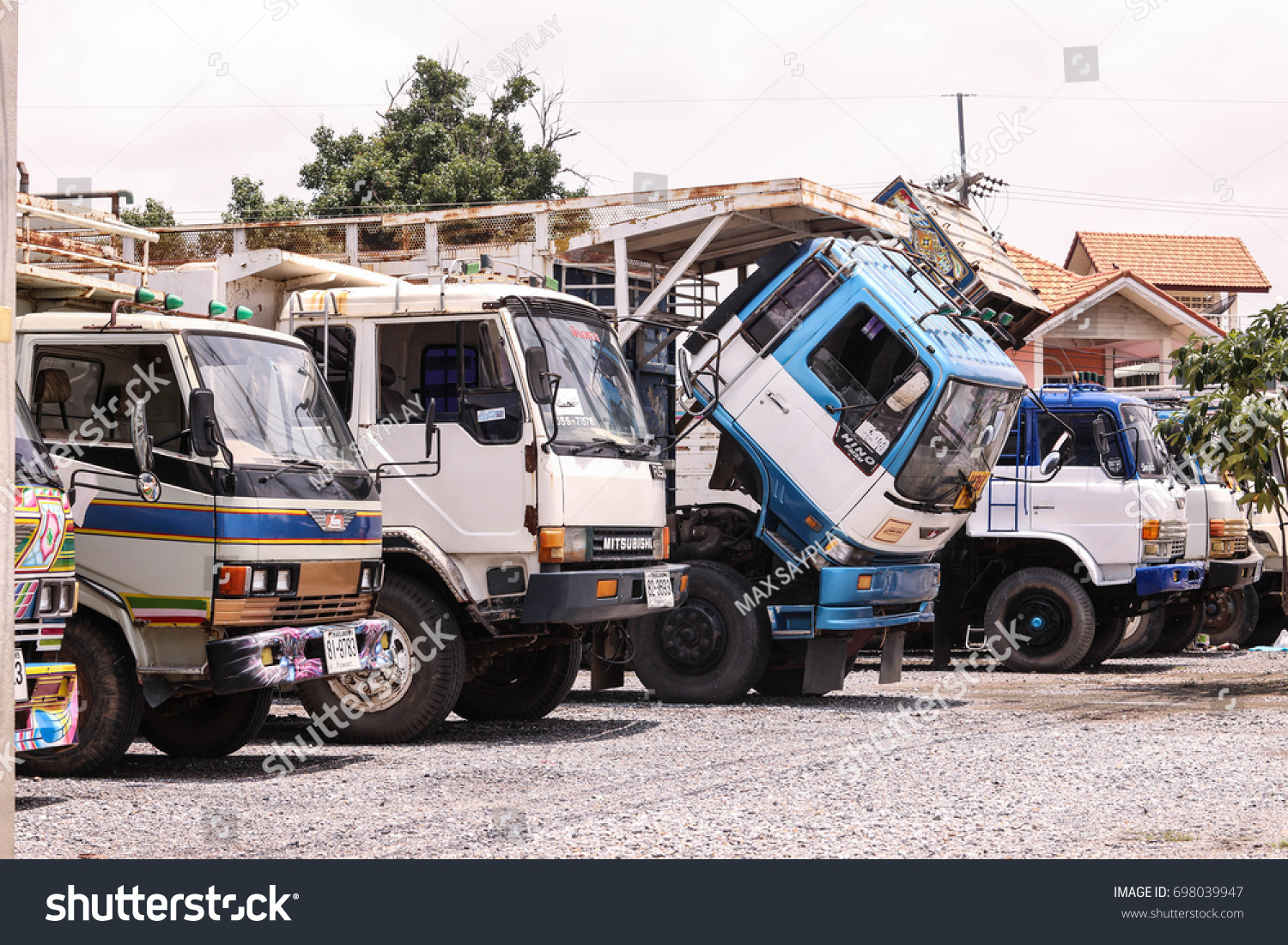 Old Lorry Second Hand Big Truck Stock Photo (Edit Now)- Shutterstock