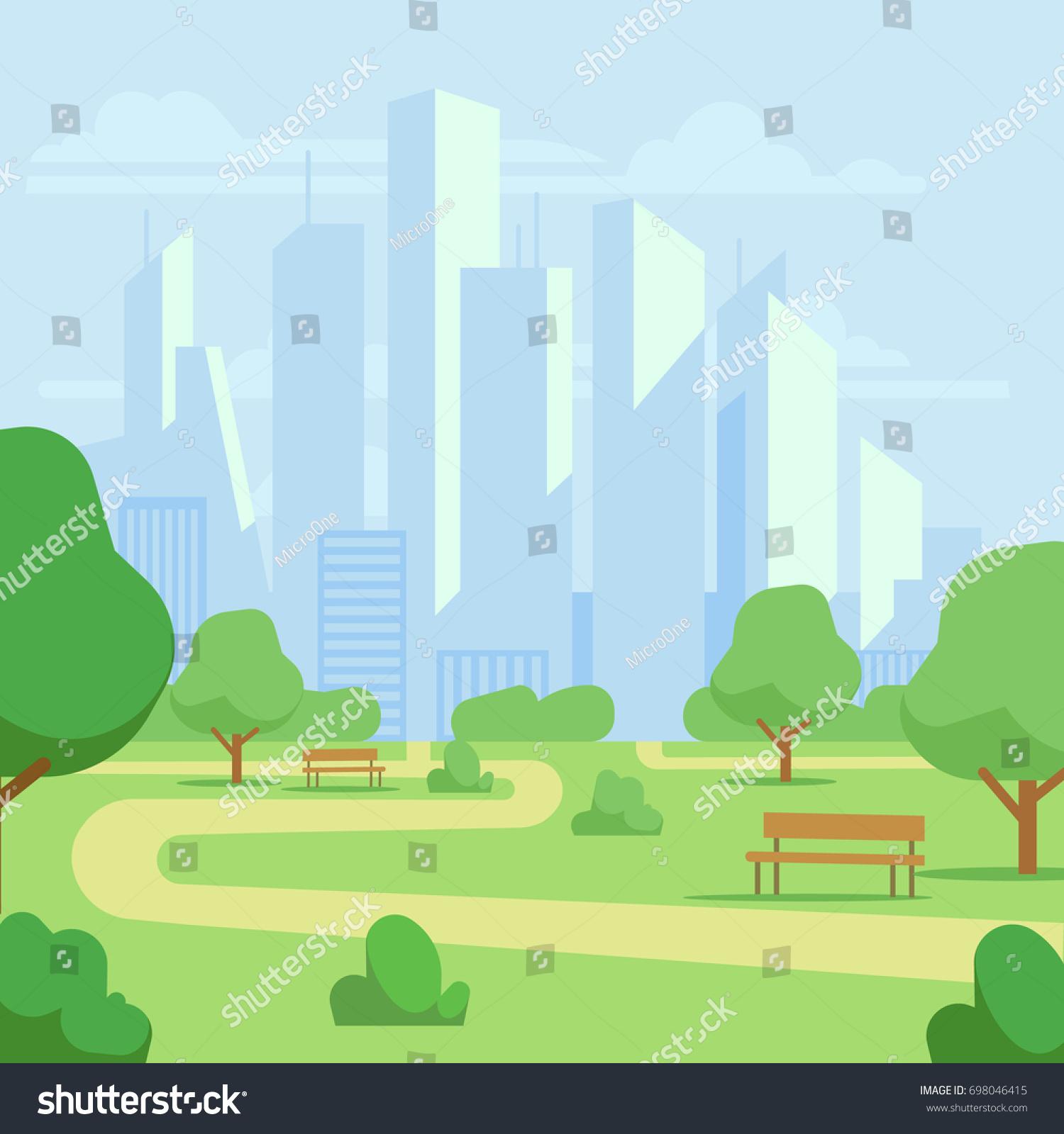 city park cartoon - photo #20