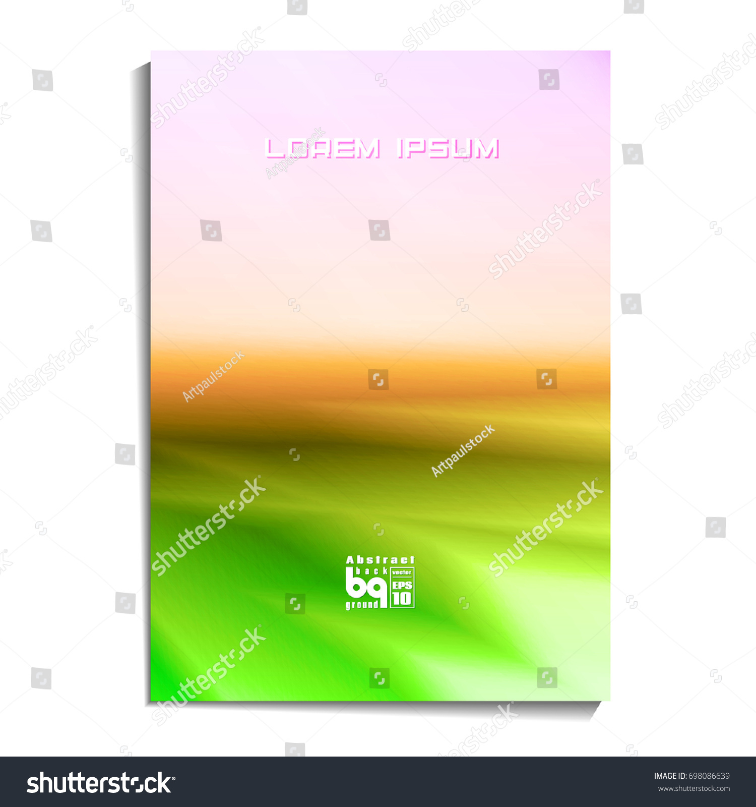 background abstract design templates sample text stock vector