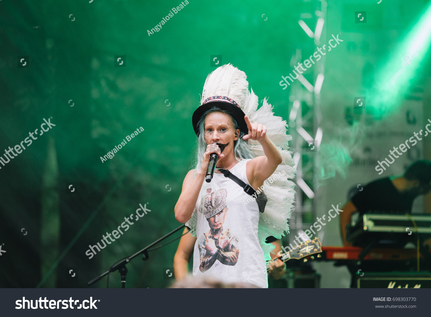 Clujnapoca Romania August 16 2017 Pasztor The Arts Stock Image 698303770