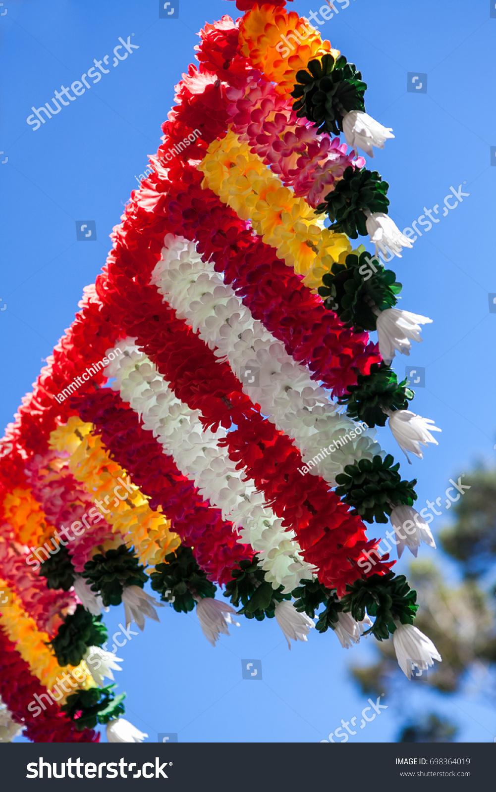 Traditional Hindu Wedding Decorations On Sunny Stock Photo Edit Now