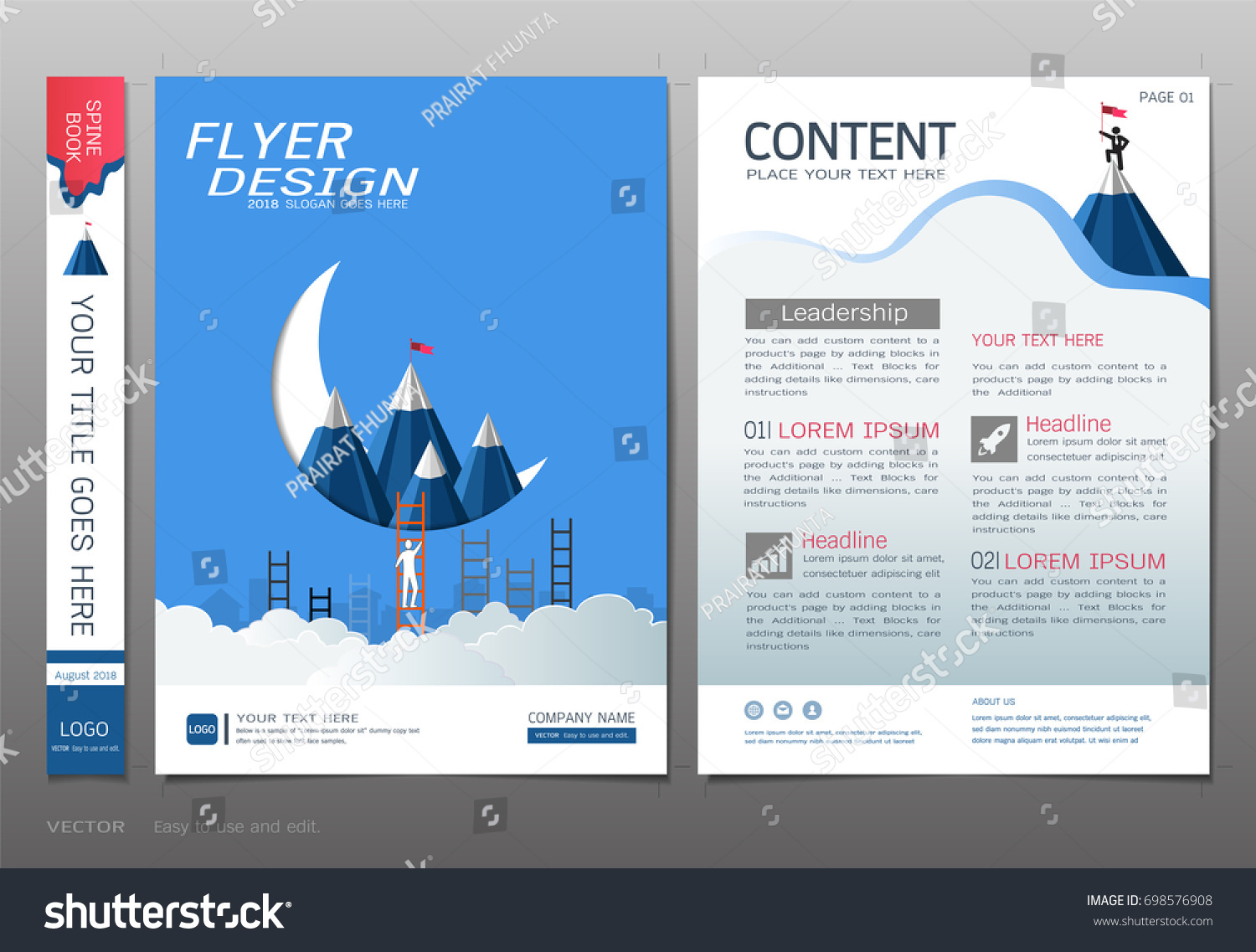 covers book design template vector business stock vector royalty