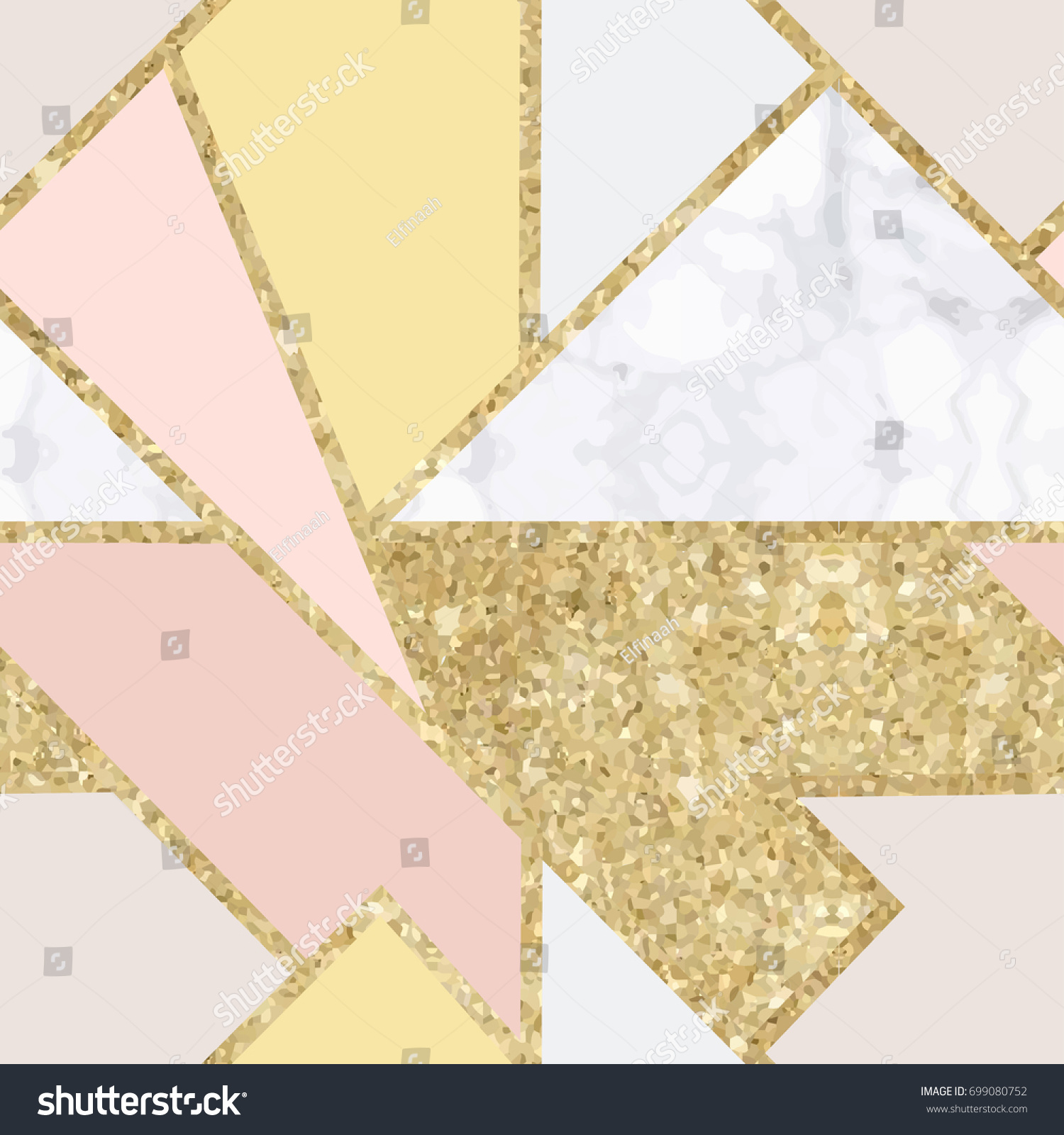 Download Wallpaper Marble Chic - stock-vector-seamless-polygonal-pattern-gold-foil-bright-elegant-background-geometric-sparkly-texture-chic-699080752  Snapshot_707989.jpg