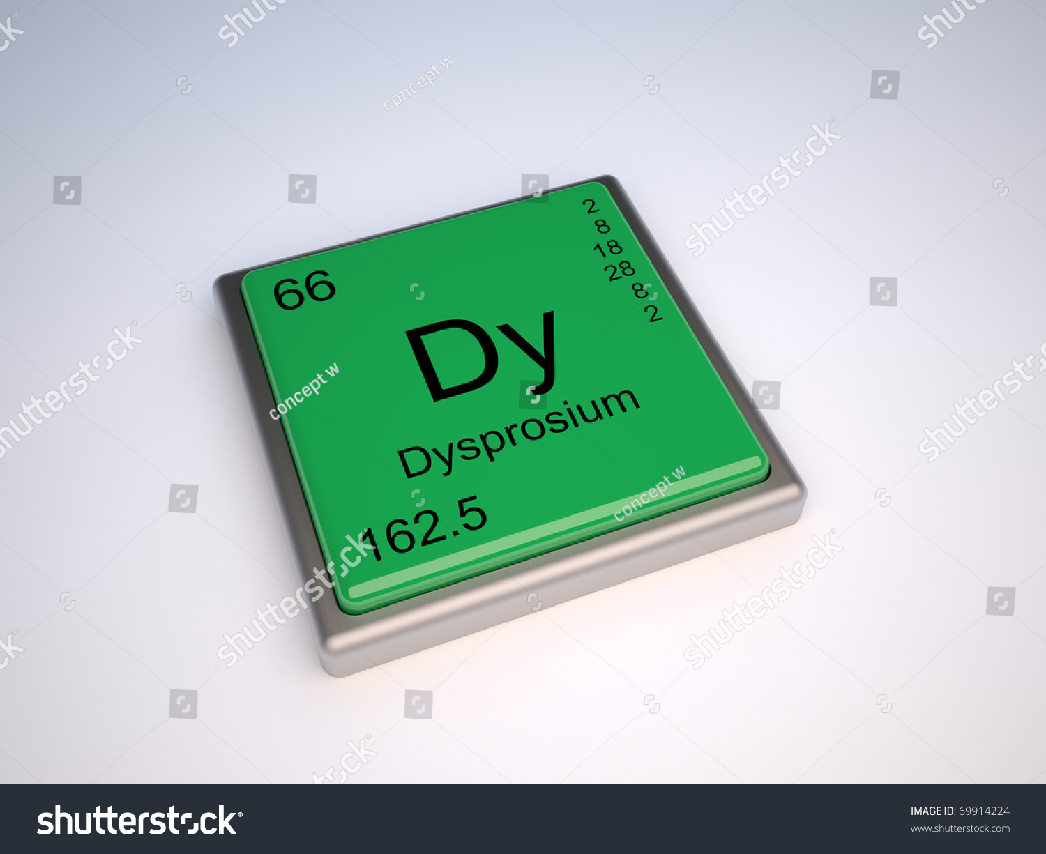 Dysprosium chemical element periodic table symbol stock dysprosium chemical element of the periodic table with symbol dy gamestrikefo Image collections