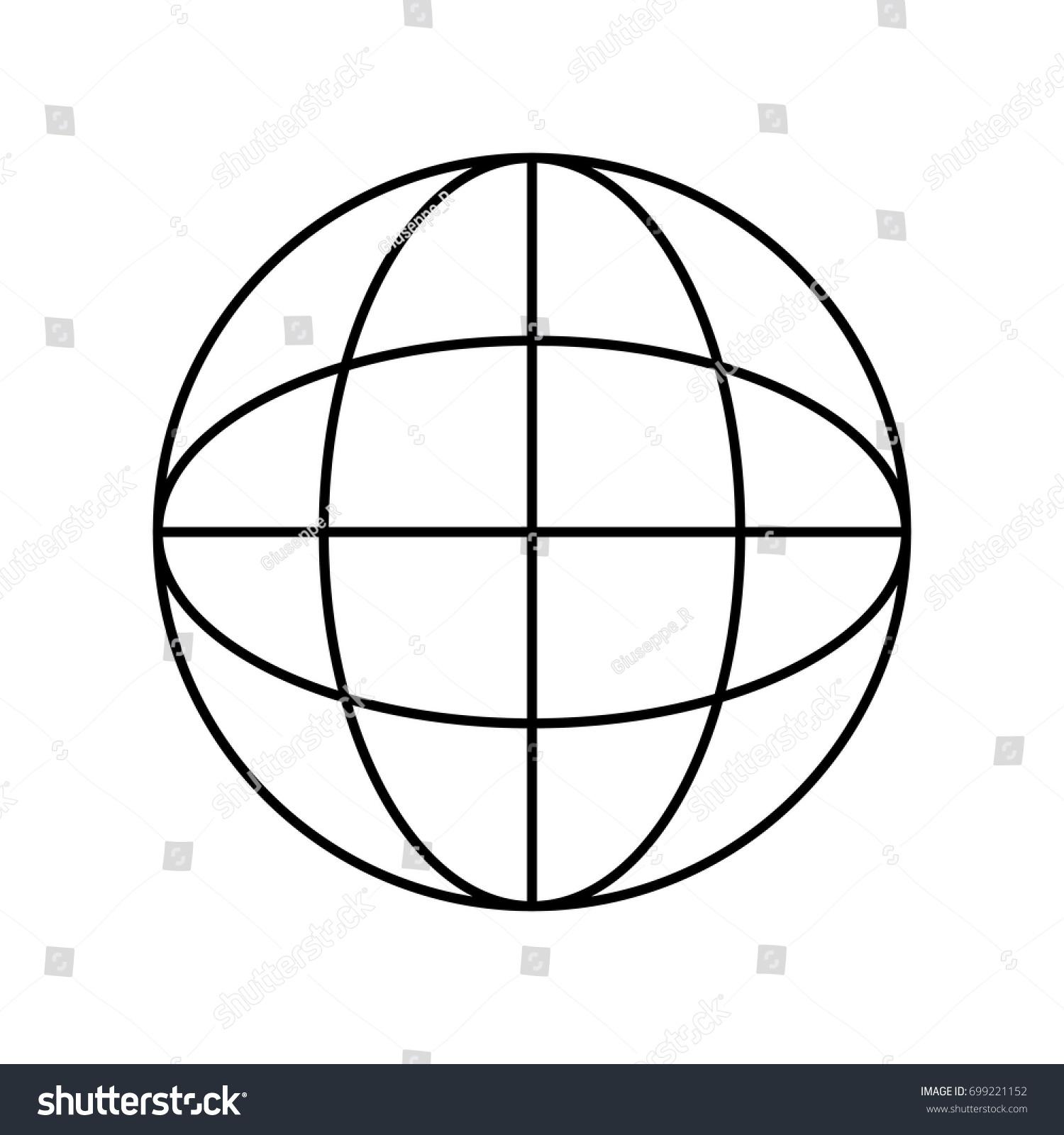 Line global symbol data center connection stock vector 699221152 line global symbol to data center connection biocorpaavc