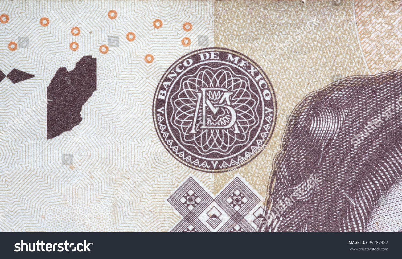 Banco De Mexico Symbol On 500 Stock Photo 699287482 Shutterstock