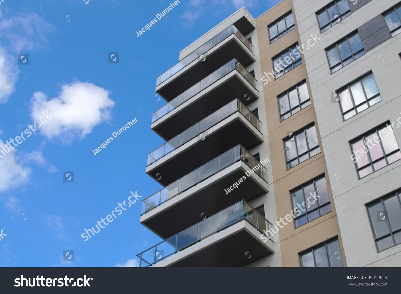 Residential Building Condominium Skyscraper Modern Architecture