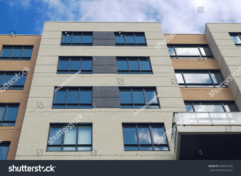 Modern Architecture Residential Building Condominium Skyscraper Apartment