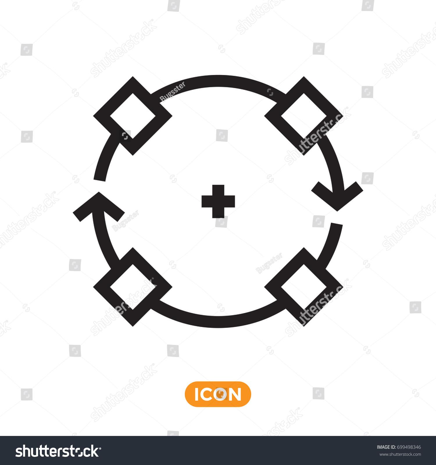 Symbol object vector icon transformation action stock vector symbol of object vector icon of transformation action biocorpaavc