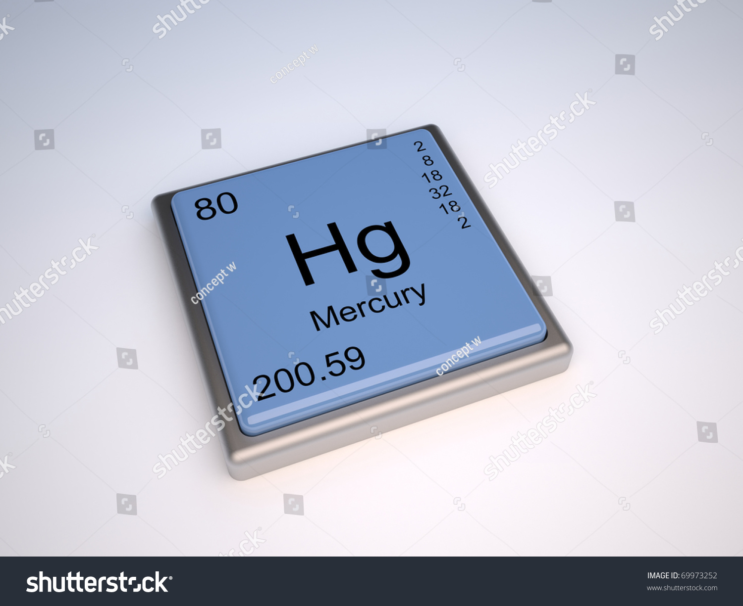 Mercury chemical element periodic table symbol stock illustration mercury chemical element of the periodic table with symbol hg iupac gamestrikefo Images
