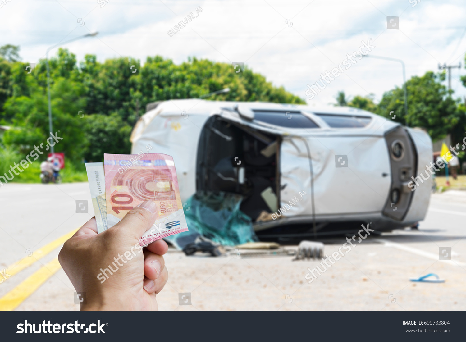 Accident Insurance Can Help You When Stock Photo Edit Now