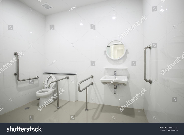 Public Disabled Toilet Building University Design Stock Photo (Edit ...