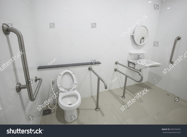 Public Disabled Toilet Building University Design Stock Photo ...