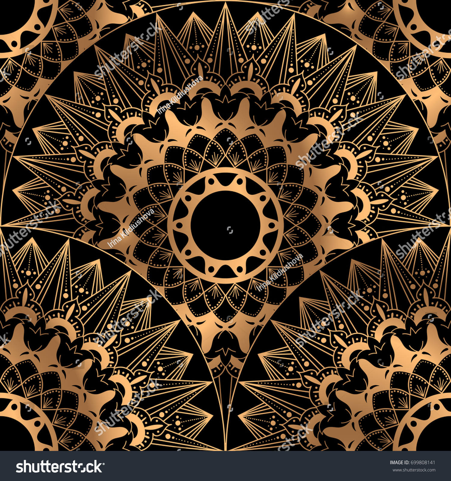 Cool Wallpaper Marble Mandala - stock-vector-golden-luxury-background-vector-gold-black-scale-pattern-seamless-design-indian-mandala-ornament-699808141  Snapshot_616896.jpg