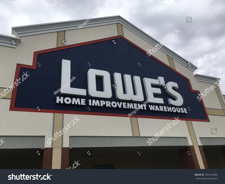 Phoenix Arizona August 20 2017 Lowes Stock Photo Edit Now