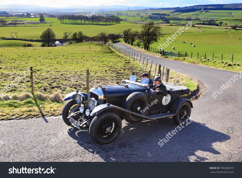 South Lanarkshire Scotland March 31 2017 Stock Photo (Royalty Free ...