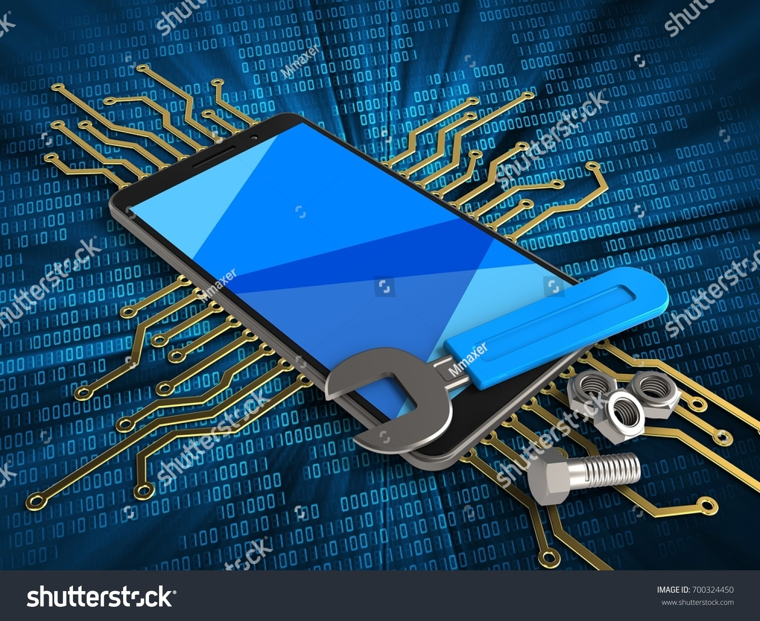3d Illustration Of Mobile Phone Over Digital Background With Digitalelectroniccircuits1jpg Electronic Circuit And Money Ez Canvas