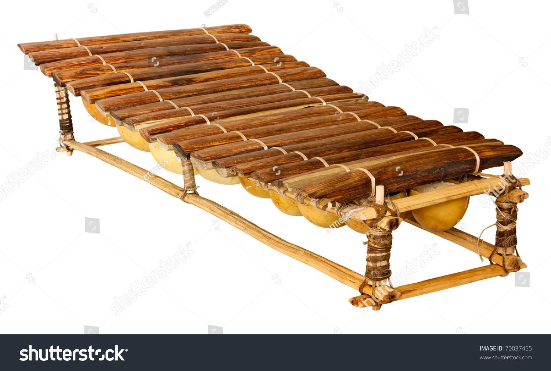 Hand Crafted 8 Key African Balafon Marimba Wooden ...  |African Wooden Xylophone