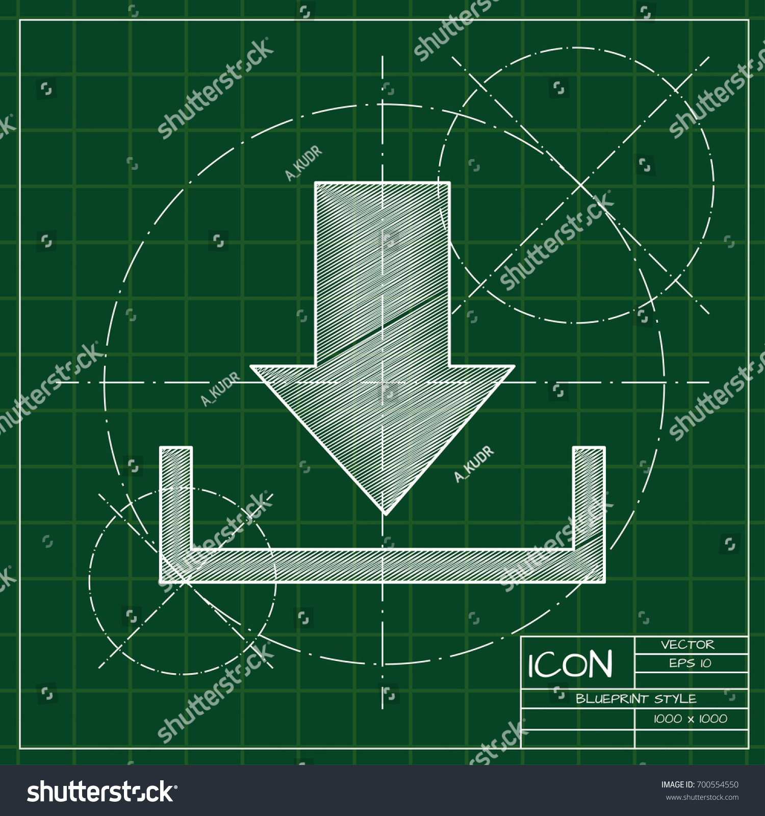 Vector blueprint download icon on engineer stock vector 700554550 vector blueprint download icon on engineer and architect background business collection malvernweather Choice Image