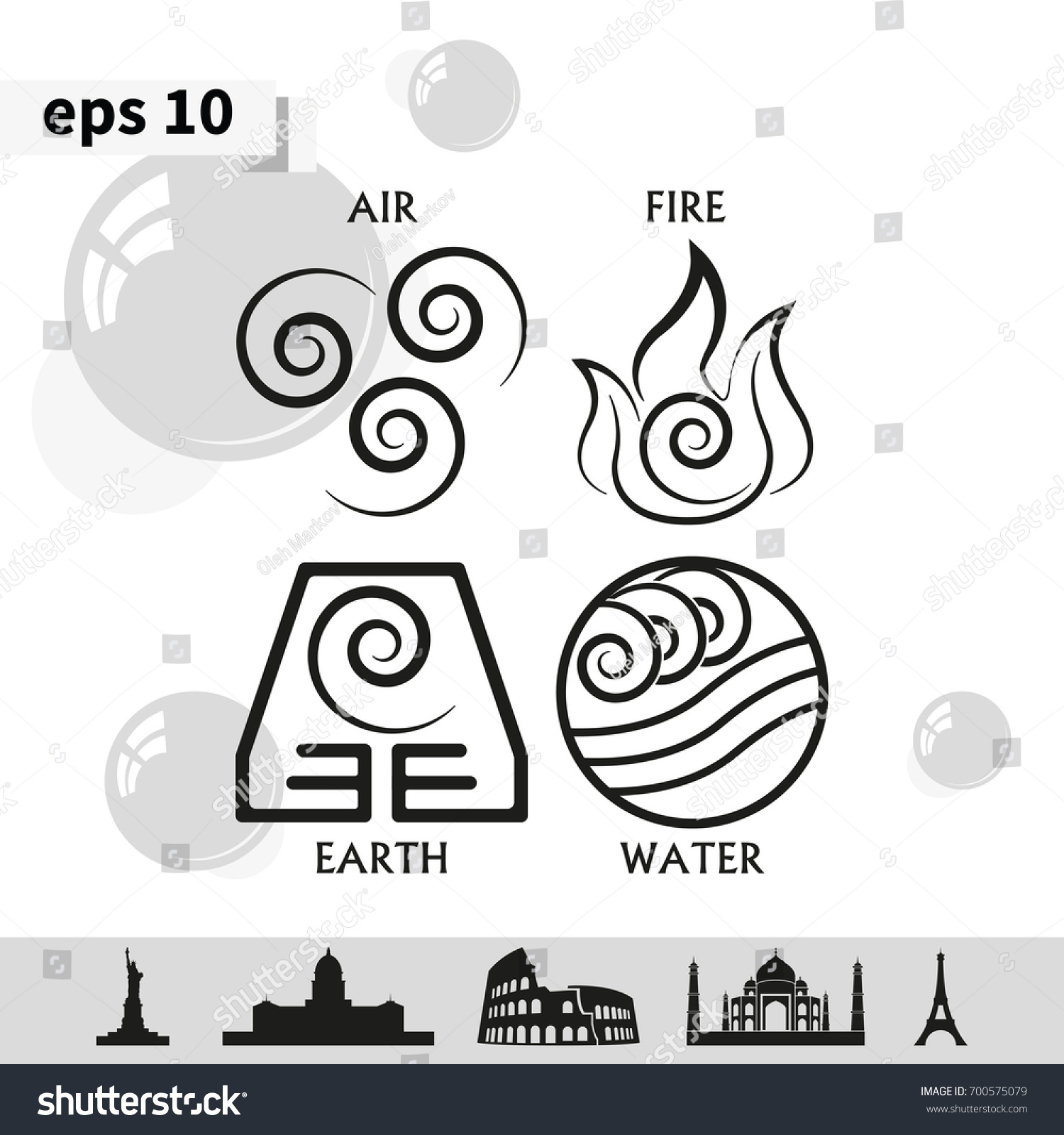 Ancient energy symbols gallery symbol and sign ideas ancient symbols four elements subscribe stock vector 700575079 ancient symbols of four elements with subscribe buycottarizona buycottarizona