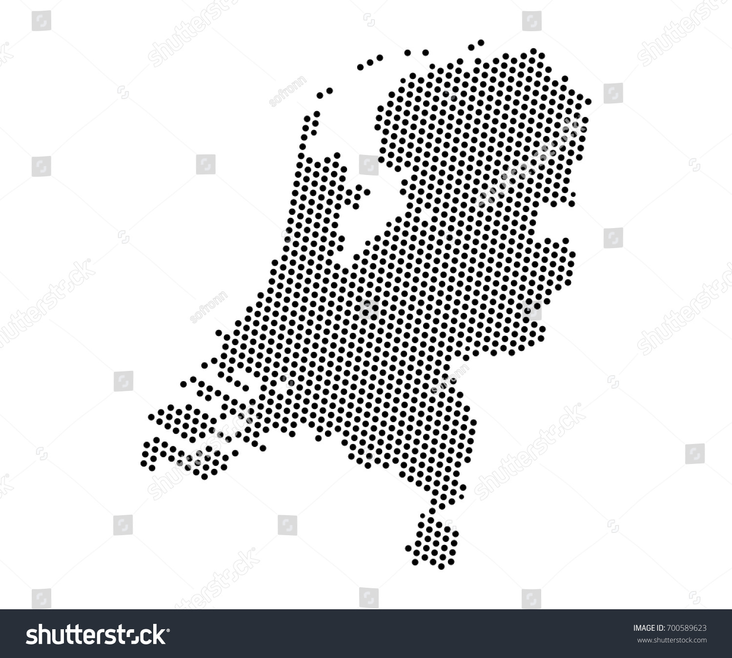 Abstract map netherlands dots planet lines vectores en stock abstract map of netherlands dots planet lines global world map halftone concept vector gumiabroncs Gallery