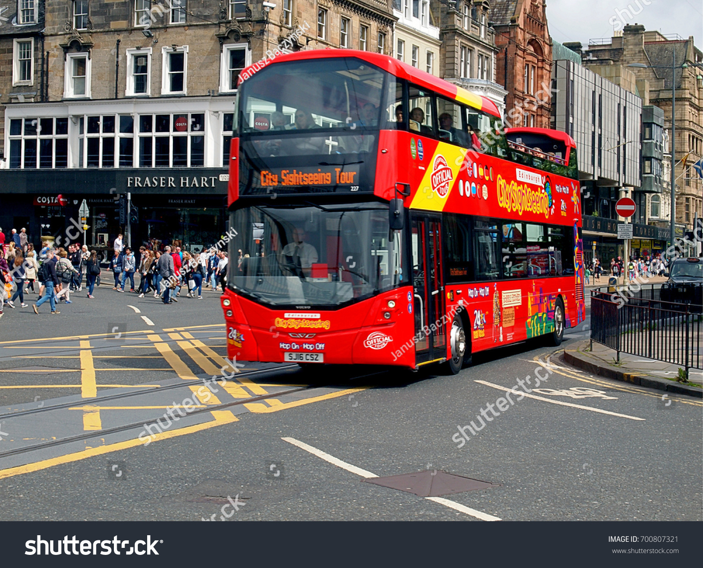 Bus From Edinburgh Scotland