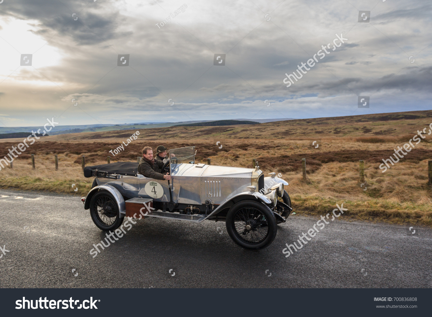 Northumberland England March 31 2017 1921 Stock Photo 700836808 ...