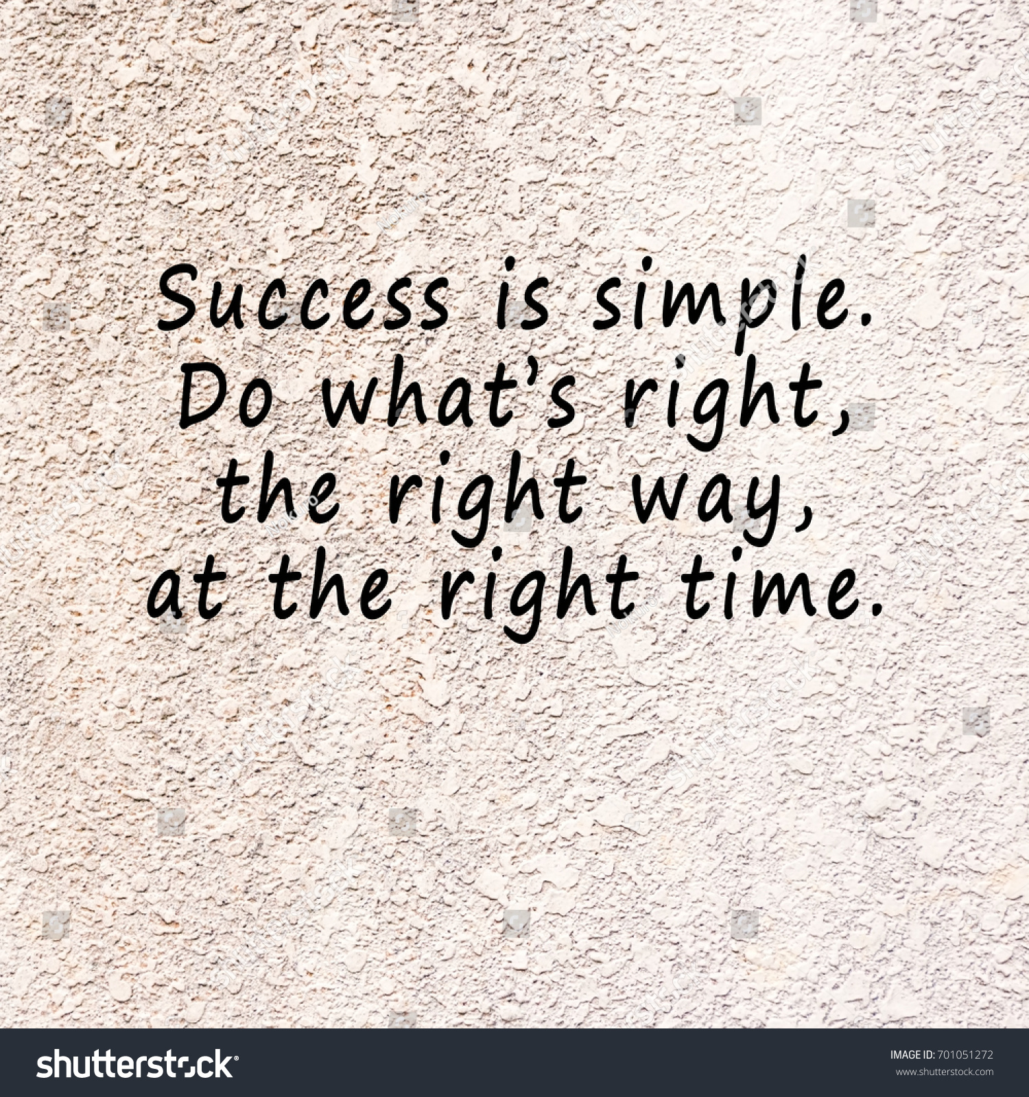 inspirational quotes success simple do whats stock photo edit now