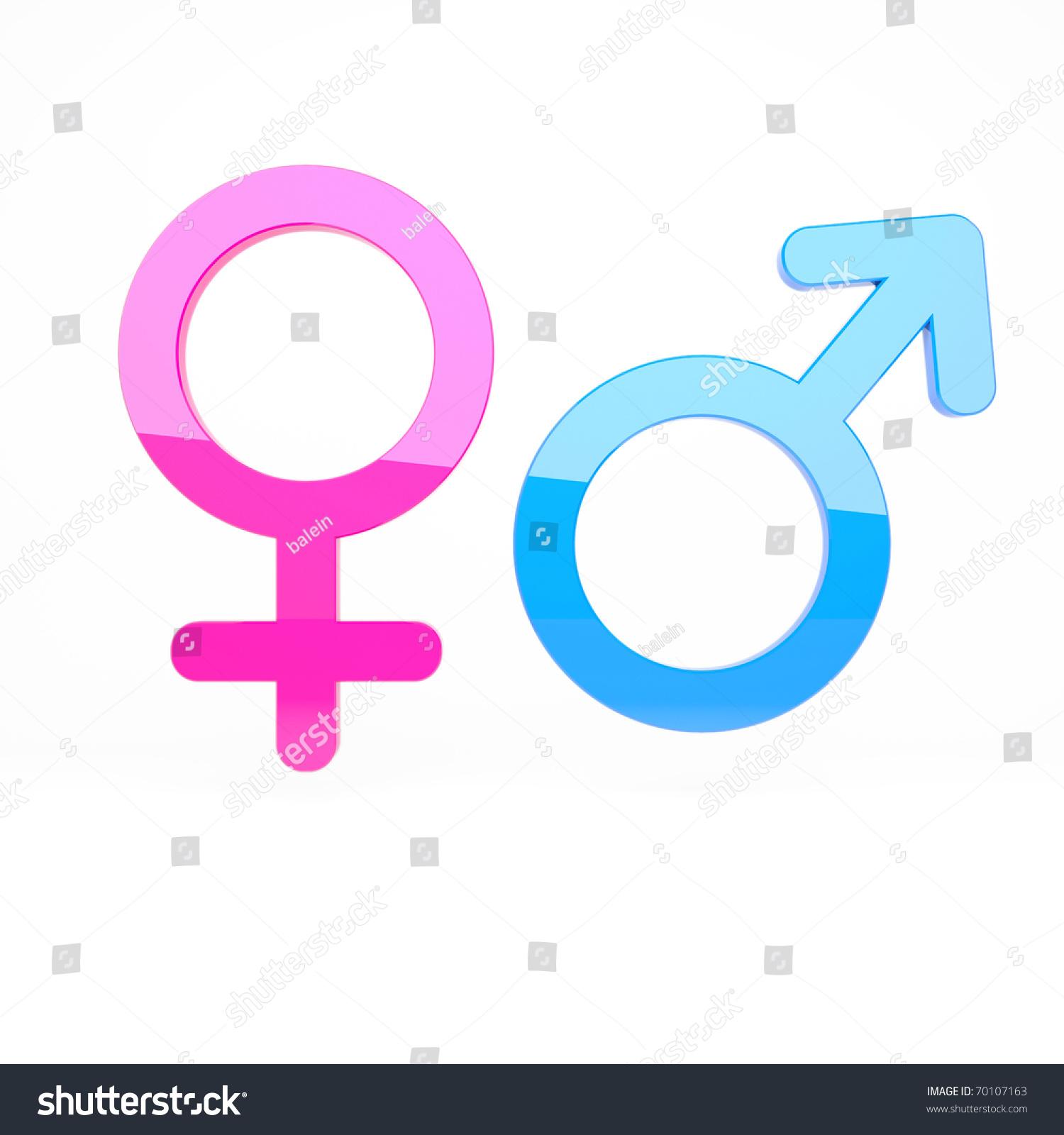 male female signs stock illustration 70107163 - shutterstock