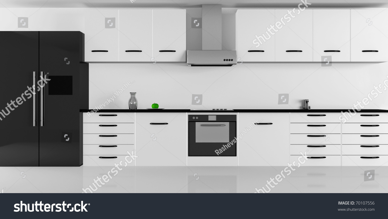 Modern Kitchen Interior Design High Resolution Image