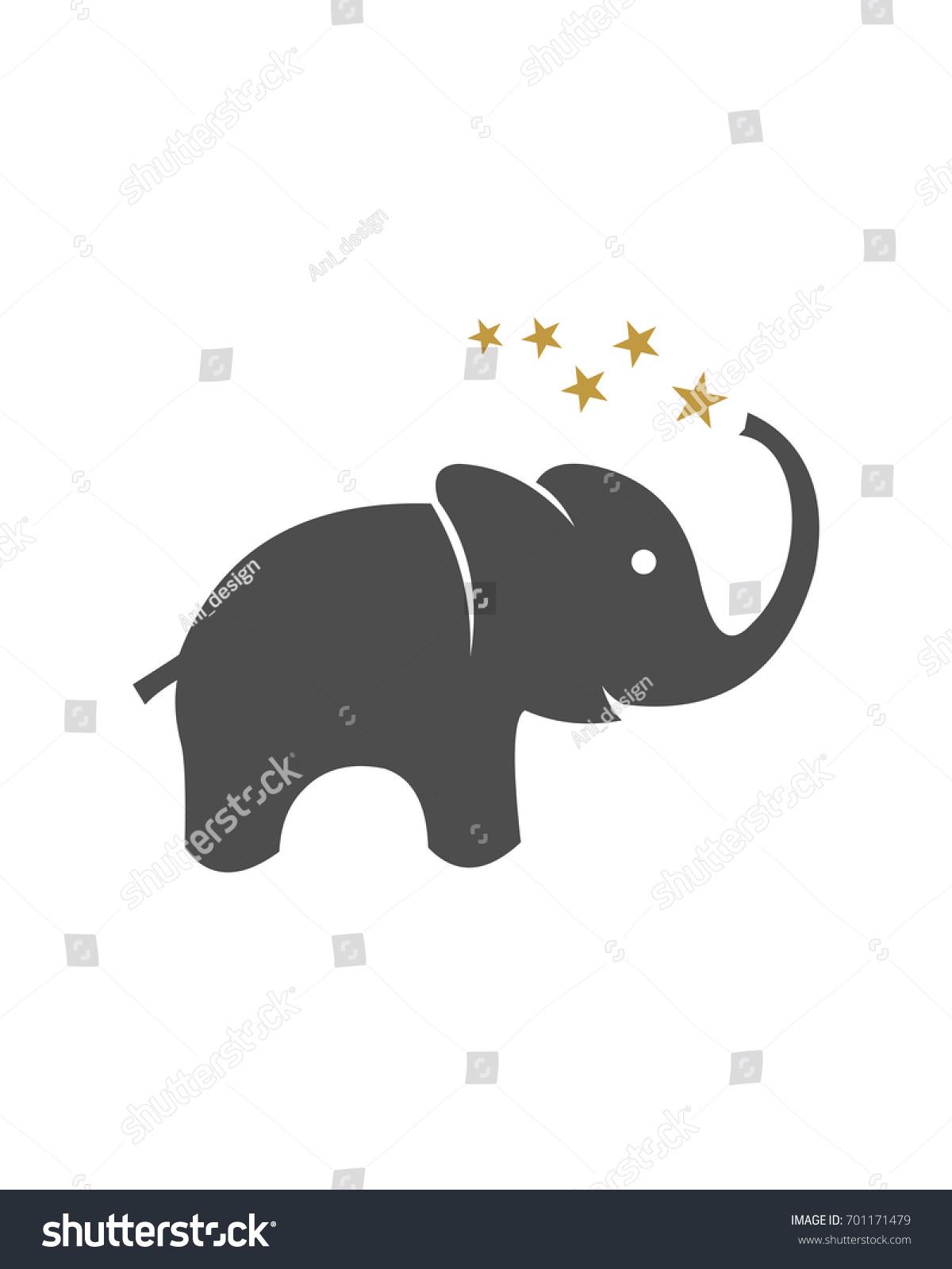 Elephant Logo Vector Stock Vector (Royalty Free) 701171479 ...