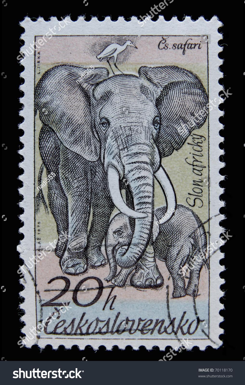 Czech republic circa 1976 a post stamp printed in for Designhotel elephant prague 1 czech republic