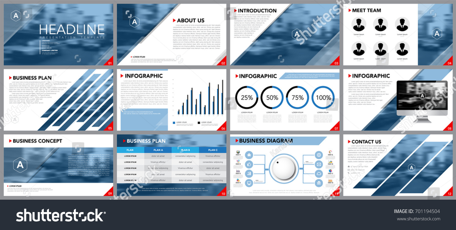 Design Element Infographics Presentation Templates Business Stock
