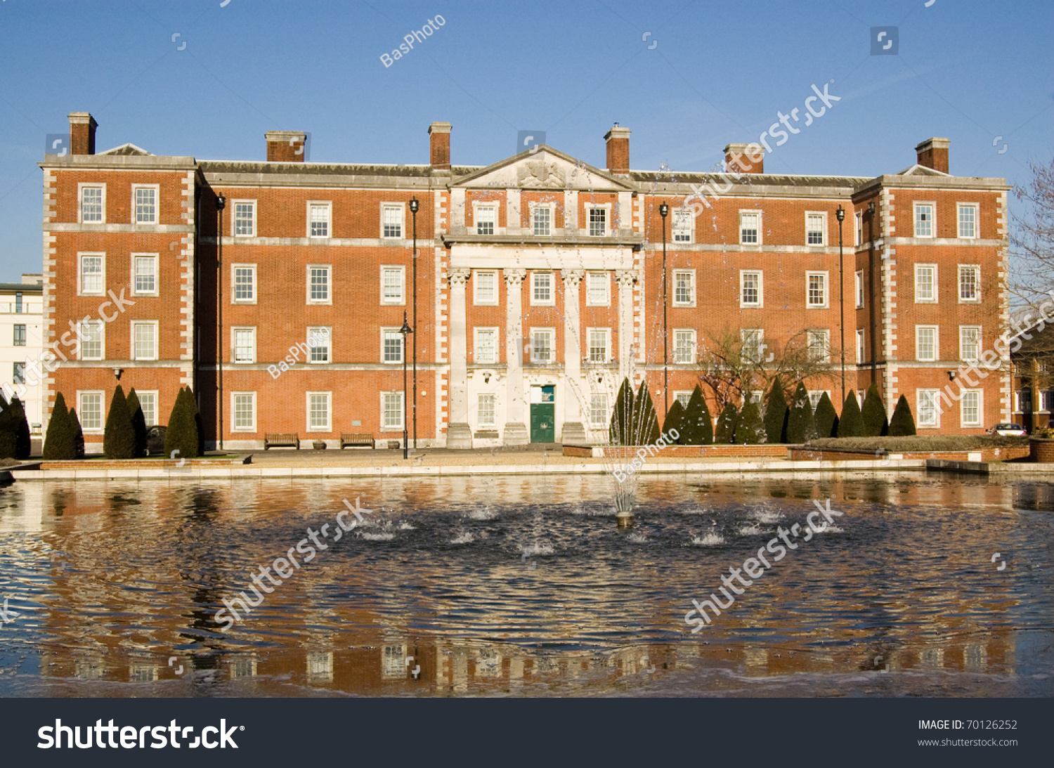 Historic Building At The Peninsula Barracks, Winchester, Hampshire ...