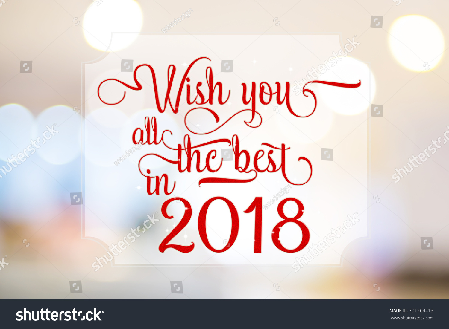 All the best greeting cards choice image greeting card examples wish you all best 2018 red stock illustration 701264413 shutterstock wish you all the best in voltagebd Images