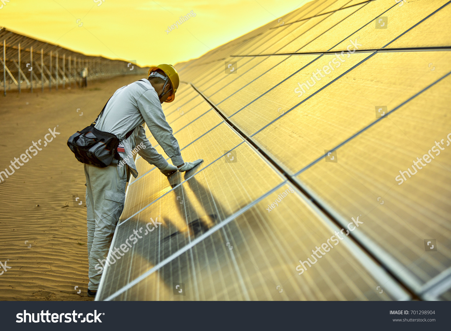 In the solar photovoltaic inspection engineer #701298904