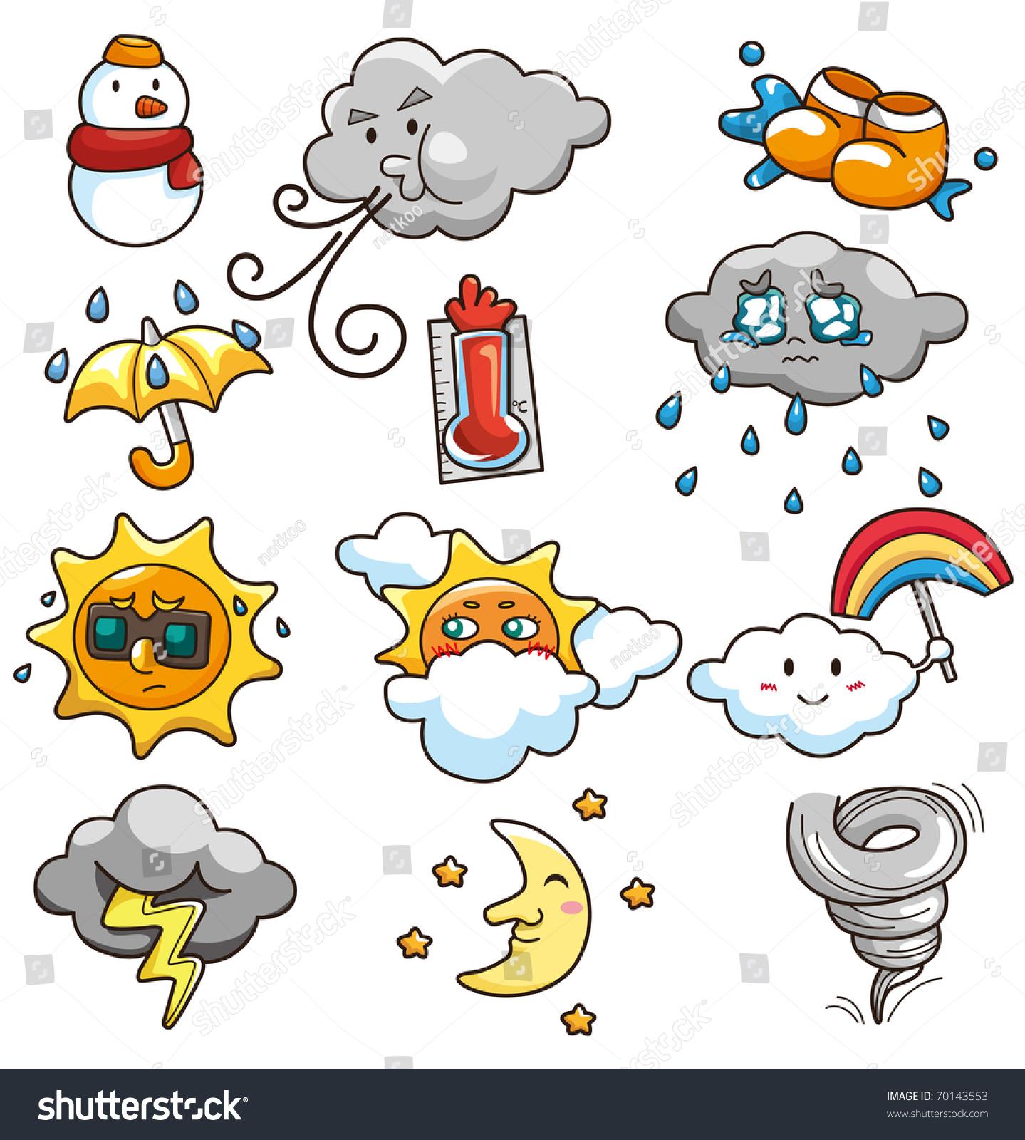 Weather - Cartoon Weather Icon