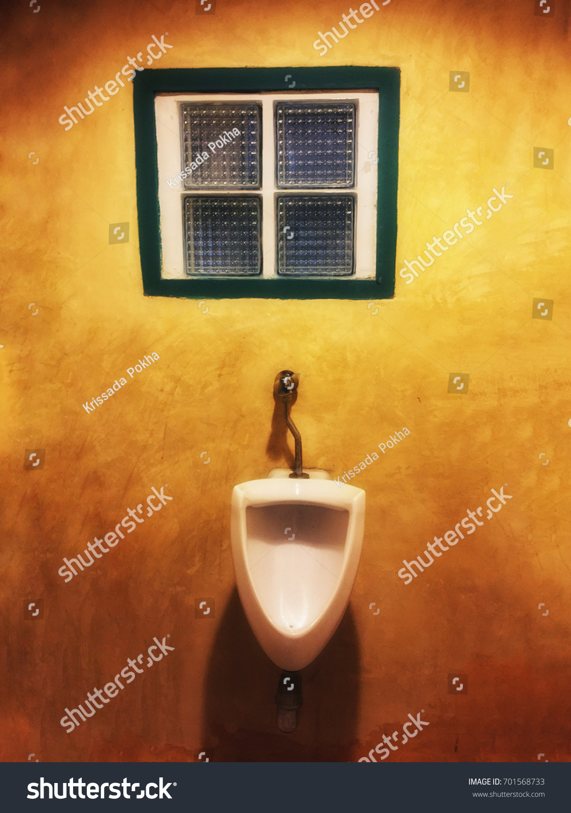 Urinals Chamber Pot Men On Orange Stock Photo (Edit Now) 701568733 ...