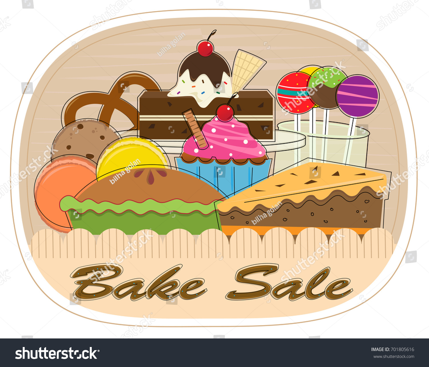 bake sale clipart assorted pastries bake stock vector bake sale clip art images free bake sale clip art pictures