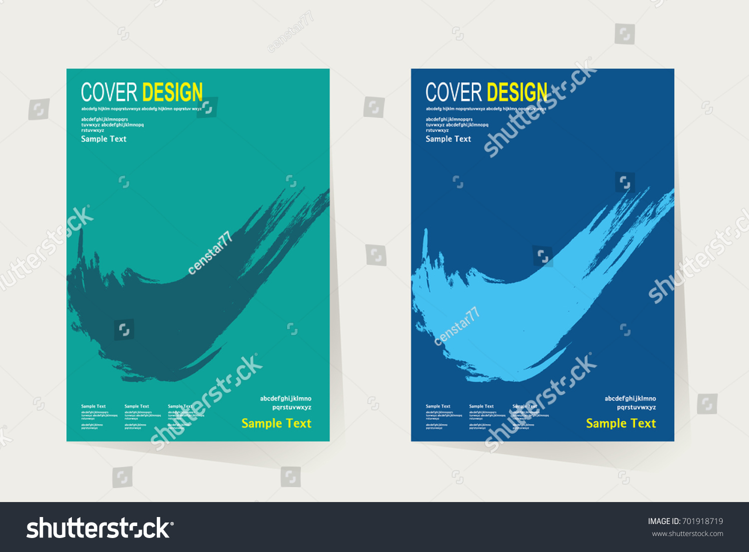 Cover Book Brochure Layout Vector : Book cover annual report design layout stock vector