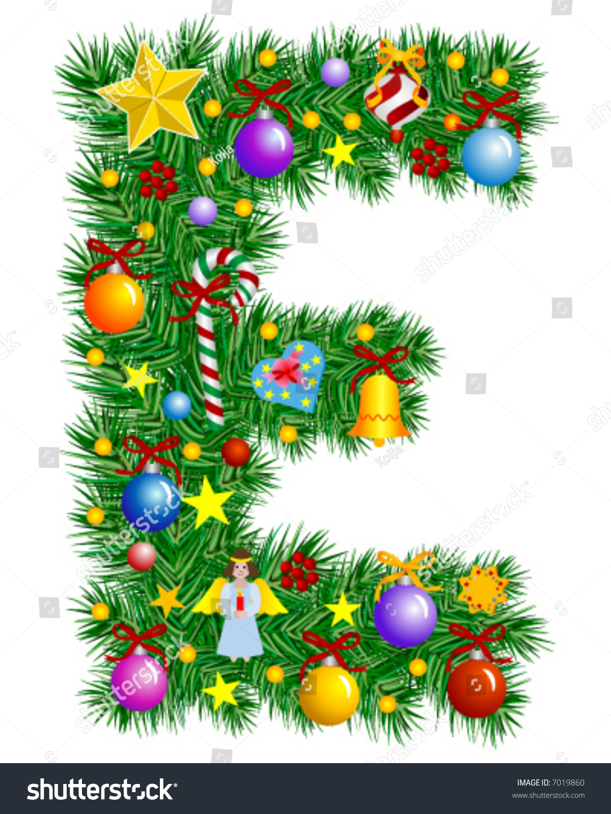 Letter tree decorations 28 images tree decoration for Letter t decoration